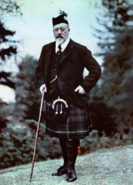 King Edward VII at Strathspey in 1907