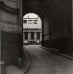 The entrance to New Court: 1960s