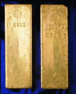 Rothschild gold bars minted at the Royal Mint Refinery