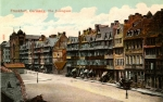 Colour postcard of the Frankfurt Judengasse c.1910