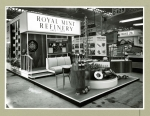 The Royal Mint Refinery stand at the British Industries Fair 1950s