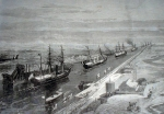Opening of the Suez Canal in 1869