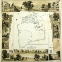 Map of the Gunnersbury estate 1847