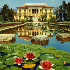 Gardens of the Villa Ephrussi c.1965