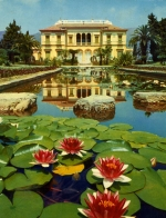 Garden of the Villa Ile de France created by Baroness Beatrice Ephrussi (nee de Rothschild)