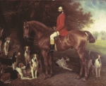Nathaniel 1st Lord Rothschild as Master of Hounds in 1884.