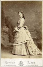 Adelheid Baroness Edmond de Rothschild as a young woman