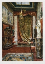 Interior of the house in the rue de Monceau where Adolphe von Rothschild displayed his collection.