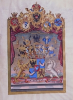 The Rothschild family crest