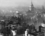 View from St Paul's Cathedral after the Blitz