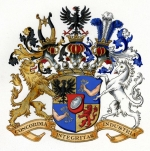The Rothschild family arms