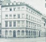 The Rothschild bank building in the Fahrgasse