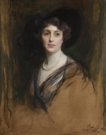 Portrait of Rozsika Rothschild by Philip de László c.1910.