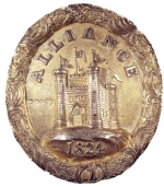 Badge of office of the Alliance British and Foreign Life and Fire Assurance Company 1825