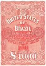 Bond for the United States of Brazil Government 4% loan of 1911