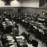 The General Office at New Court c.1962