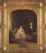 Nathaniel and Charlotte de Rothschild