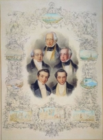 The Five Rothschild brothers by Raunheim