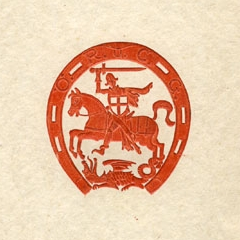 Detail from the 1933 Austrian National Federation of Equestrian Sports Year Book