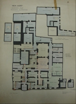 Plans of second New Court