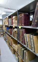 Collections of the Rothschild Archive London in climate-controlled storage